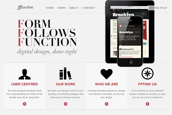 fffunction Creative Approach to Using Web Icons and Graphic Symbols in Web Design