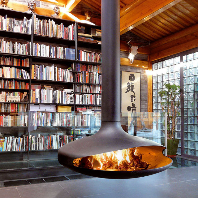 fireplace1 30 Awesome Fireplace & Fire Pit Designs