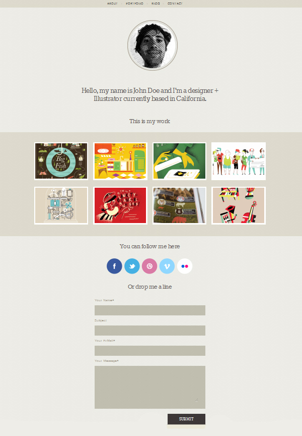 folly Top Free WordPress Themes of 2012