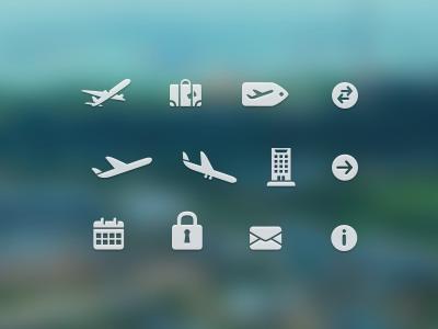 Free Travel Icons by Konrad