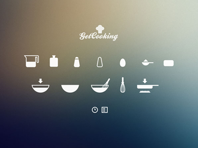 Free Cooking Icons by Cosmin Capitanu
