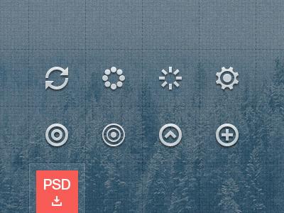 Icons Teaser [PSD] by Jiri Silha