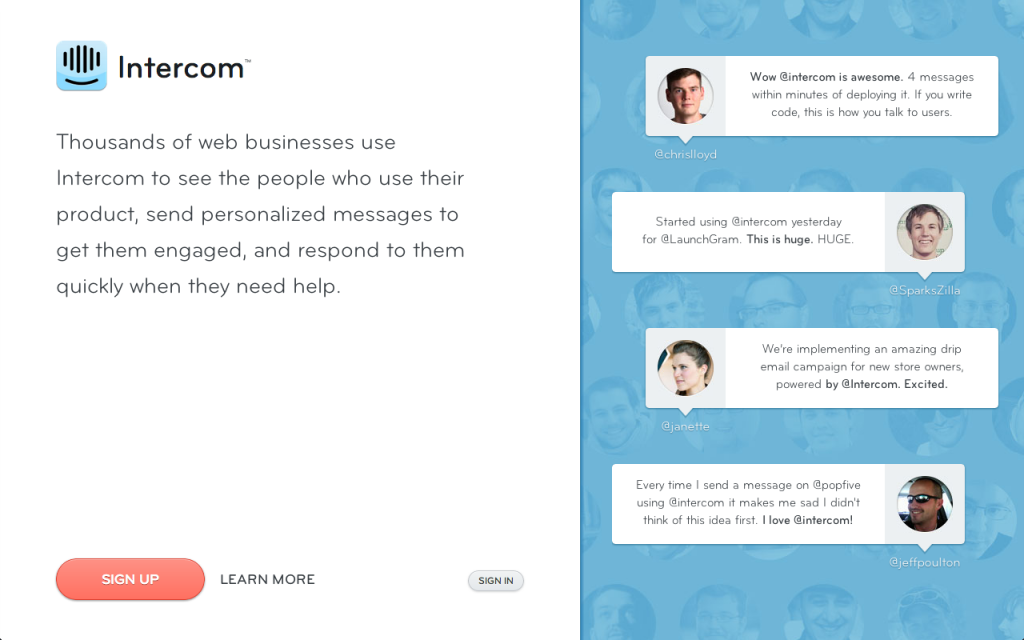 intercom 1024x6401 15 Valuable Tools To Help Grow Your Business In 2013