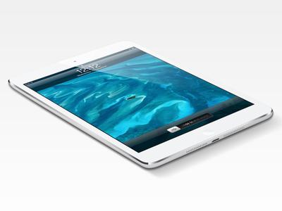 iPad Mini Psd by Matt D. Smith