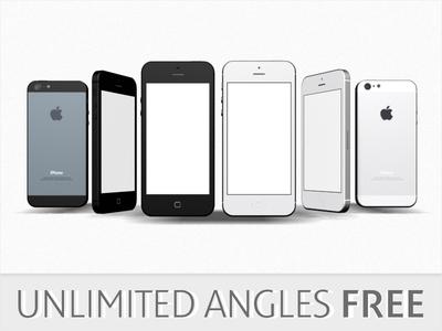 iPhone 5 3D Models