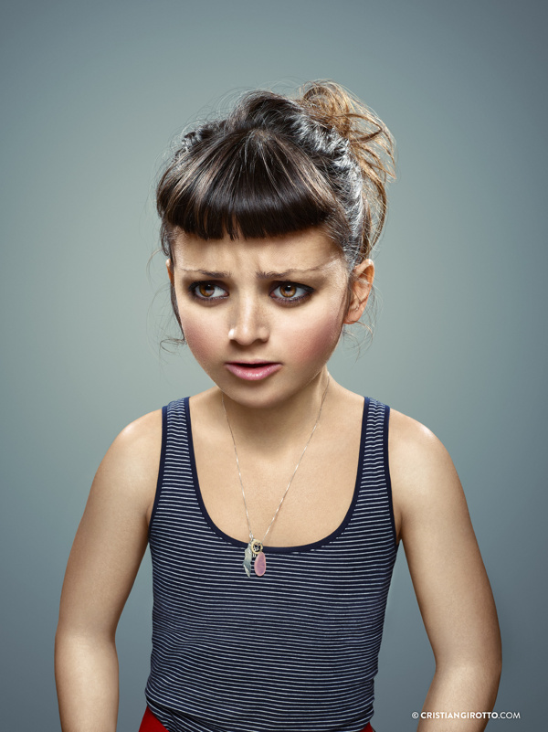 The Outer Child Portraits by Cristian Girotto and Quentin Curtat