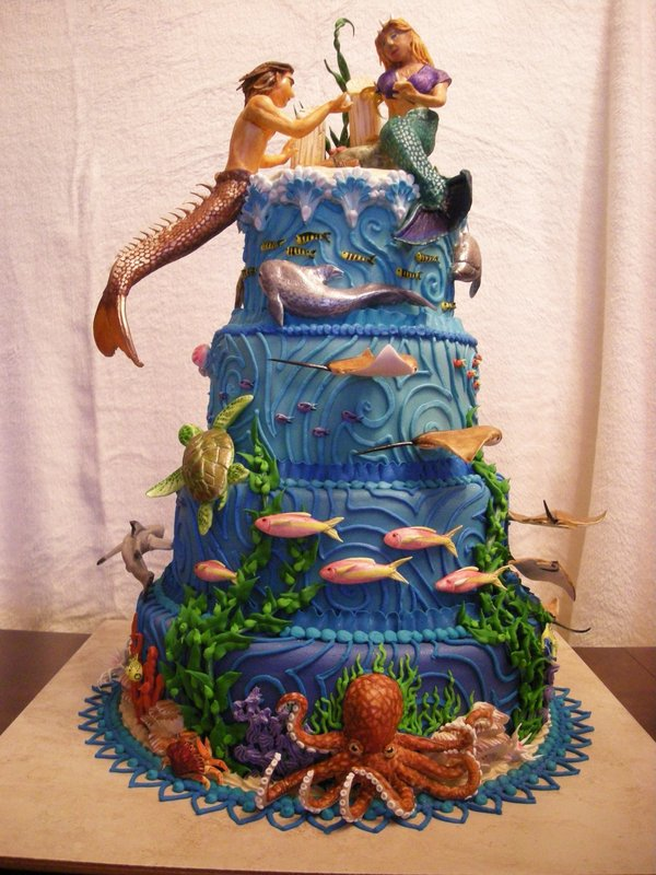 Lost Atlantis Cake