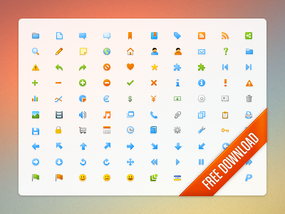 Microscopic icon set by Wessley Roche