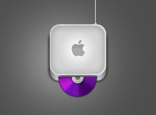 Mac Mini PSD