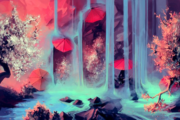 Moving Digital Artworks by Cyril Rolando
