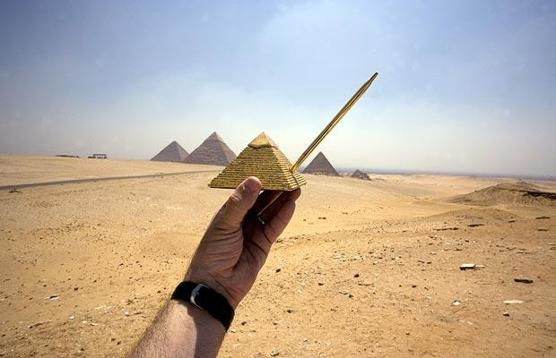 pyramids pen 1004617i Real World Counterparts Replaced by Cheap Souvenirs