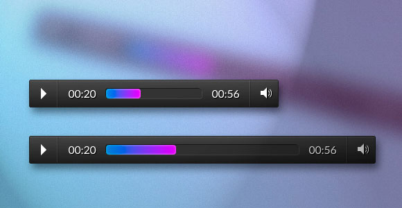 responsive css audio player1 30 Free Intuative CSS Snippets