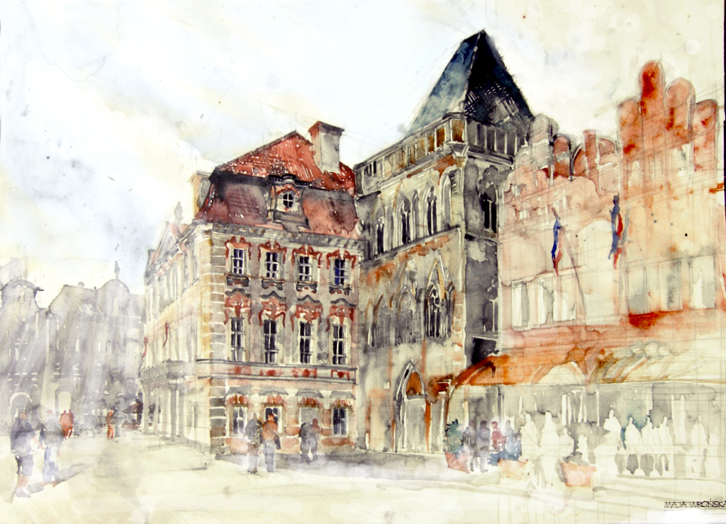 summer trip to prague by takmaj d56e0gt1 Watercolor Wonders by Maja Wronska