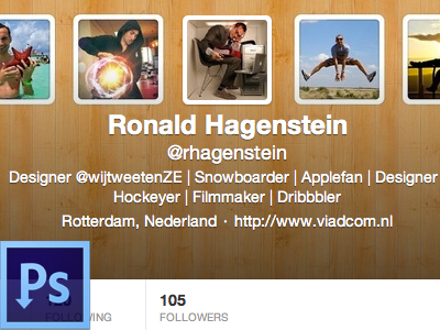 Twitter Header Creator by Ronald Hagenstein