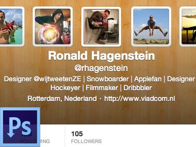 Twitter Header Creator by Ronald Hagenstein