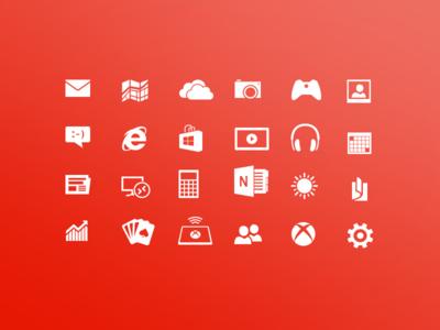 Windows 8 Metro Icons by Finbarrs Oketunji