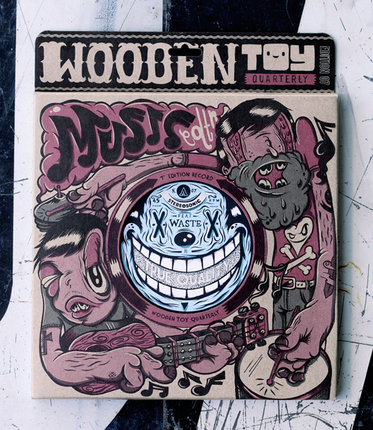 Wooden Toy Quarterly by Timba Smits