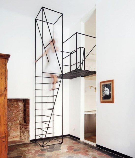 Metal Staircase by Francesco Librizzi