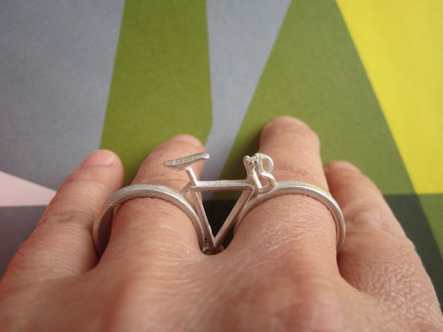 Bicycle Ring by CollabCubed