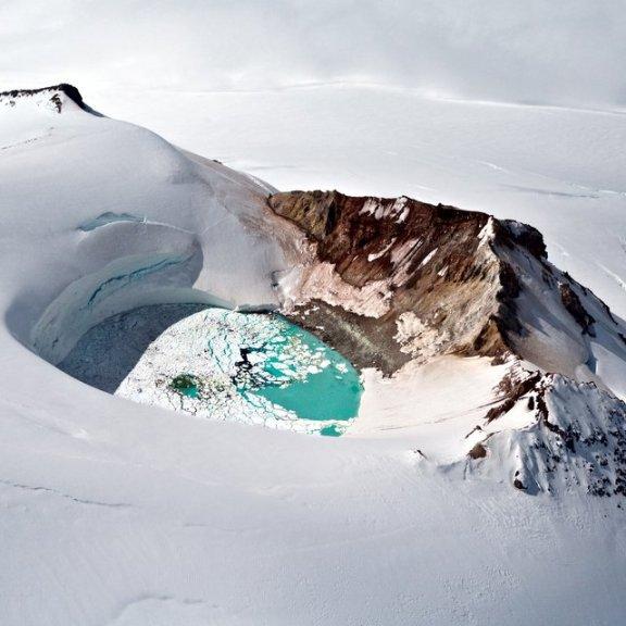 Mt. Douglas Caldera @ Alaska Peninsula