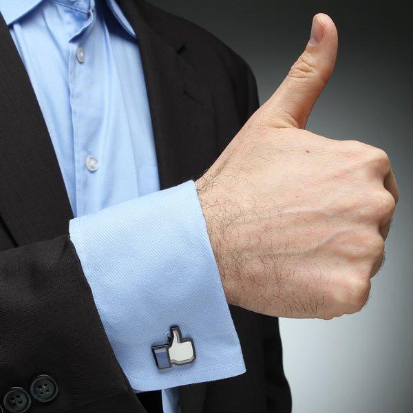 Thumbs-Up Cufflinks