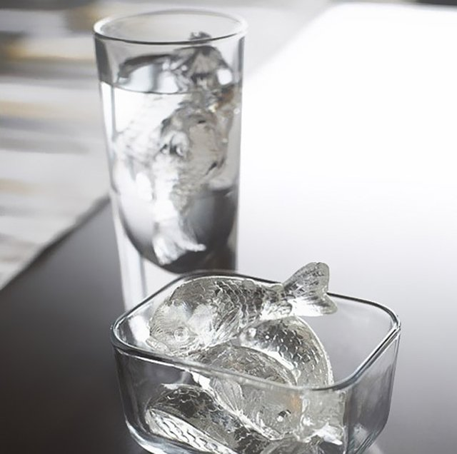 Cold Fish Ice Cube Tray by Gama-Go