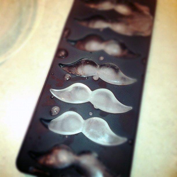 Mustache Ice Cube Tray