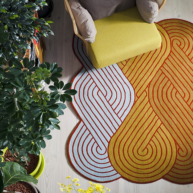 Tresse Rug by Samuel Accoceberry
