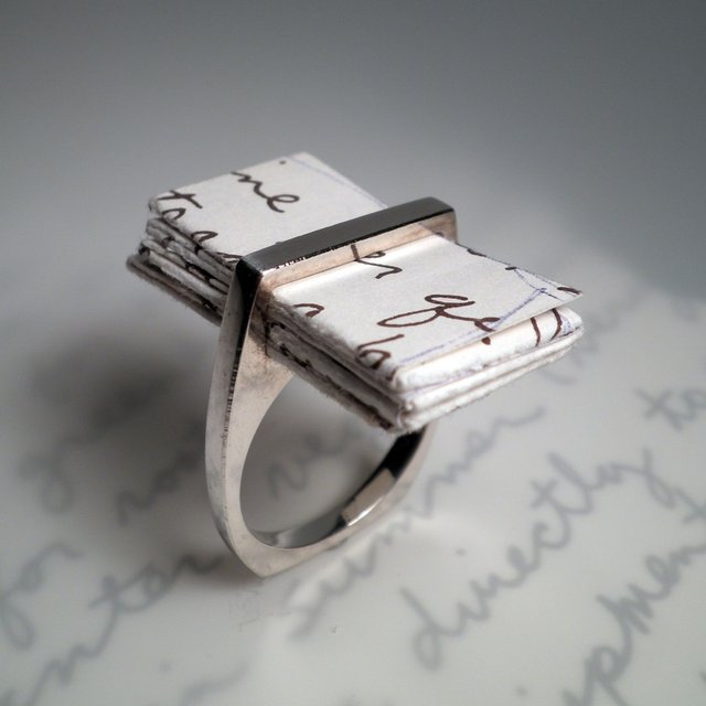 I Thou Love Letter Ring