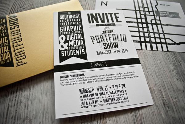 2012 Southeast Tech Portfolio Show Campaign