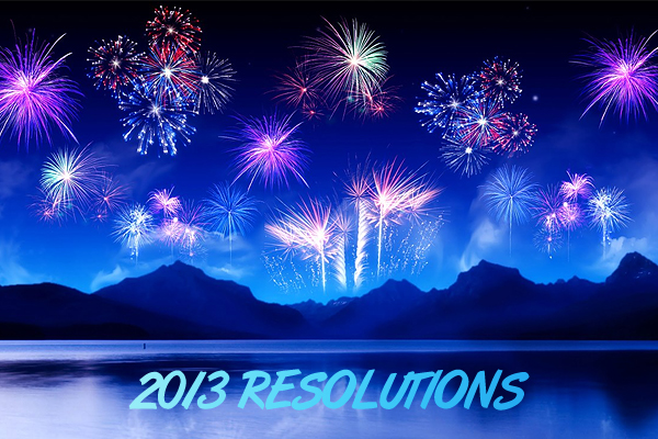 2013 8 Creative Web Designers' Resolutions for 2013