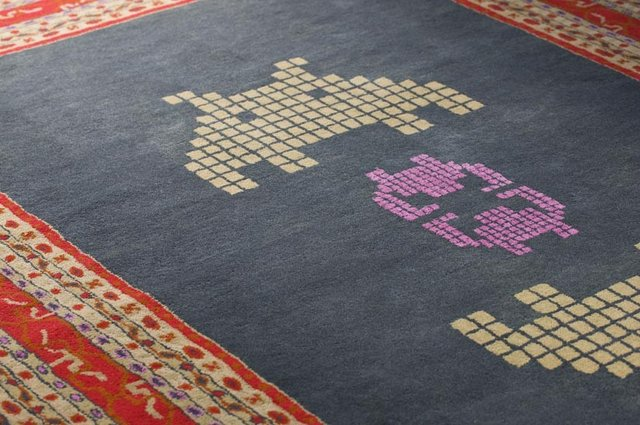 Approaching 10243 Rug by Hussein Chalayan