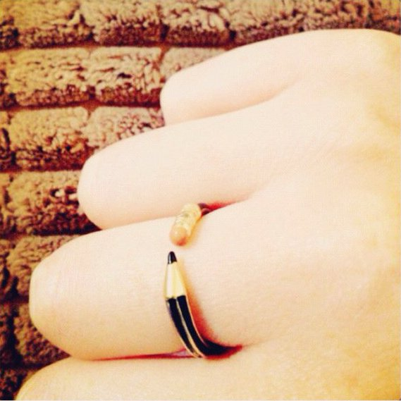 Write On! Pencil Ring