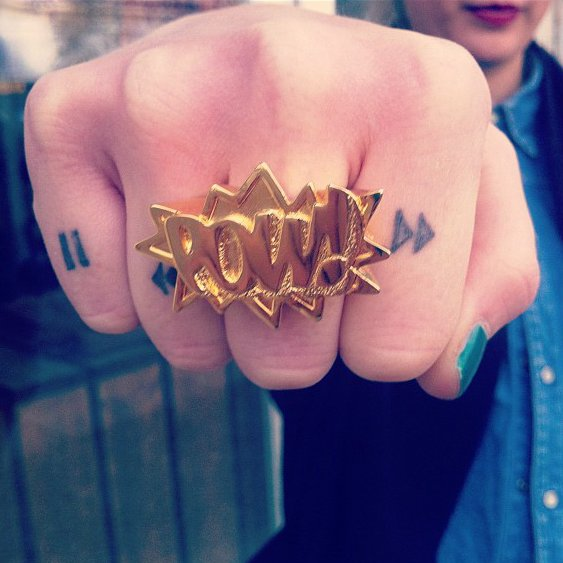 Pow! Ring by Ambush