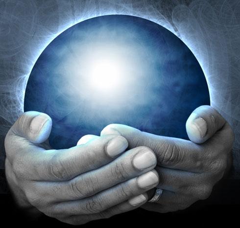 Create a Magic Crystal Ball