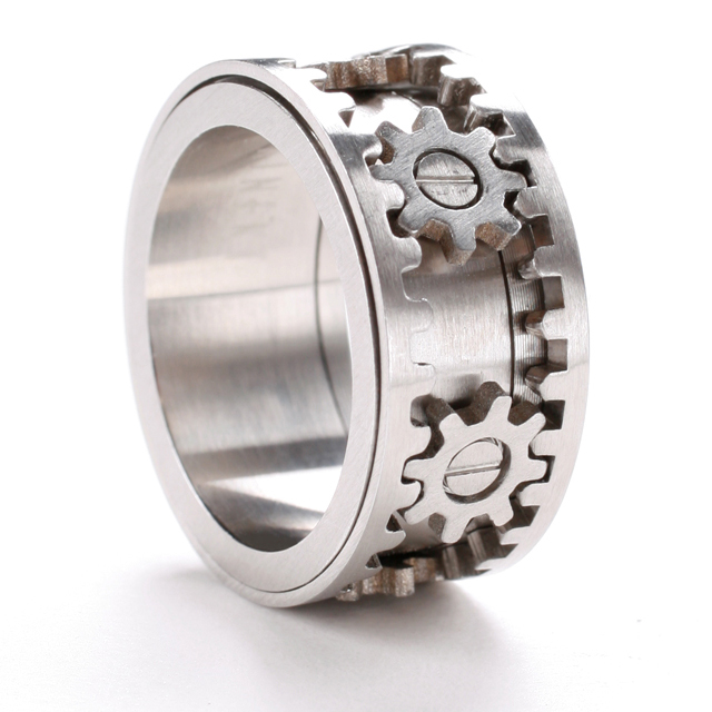 Gear Ring by Kinekt