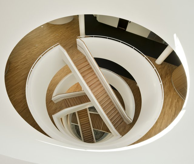 Horten Headquarters Staircase by 3XN