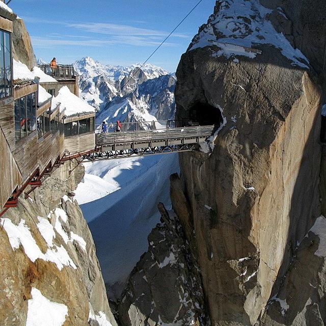 Aiguille du Midi @ Mont Blanc, France