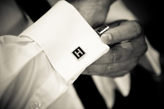 Personalized Square Cufflinks