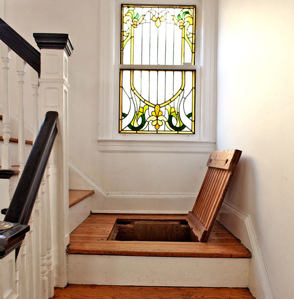 Secret Staircase Storage