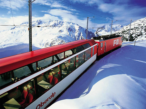 Glacier Express @ Switzerland
