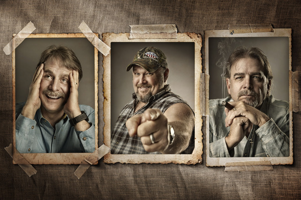 Jeff Foxworthy, Larry the Cable Guy & Bill Engvall