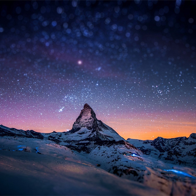 Matterhorn Mountain @ Switzerland