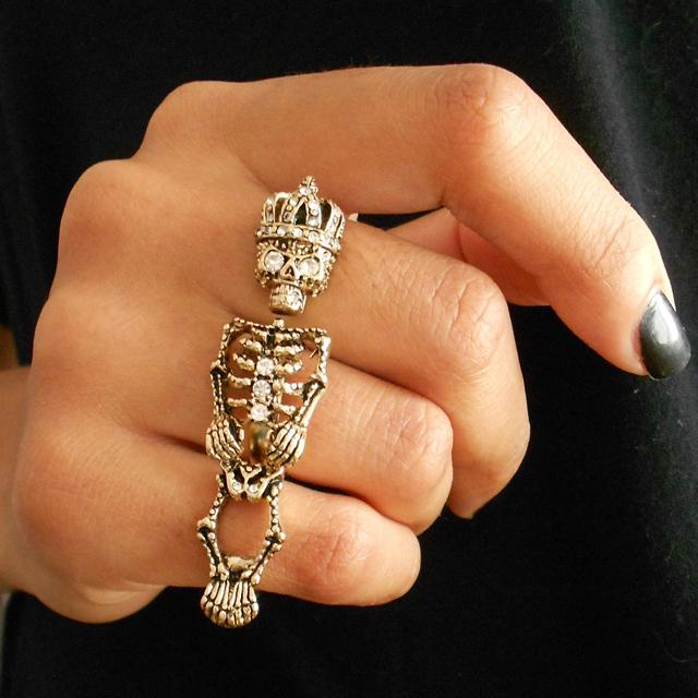 Skeleton King Ring