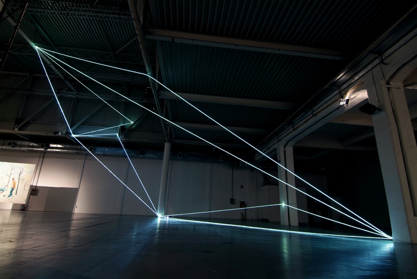 45 Fiber Optic Installations by Carlo Bernardini