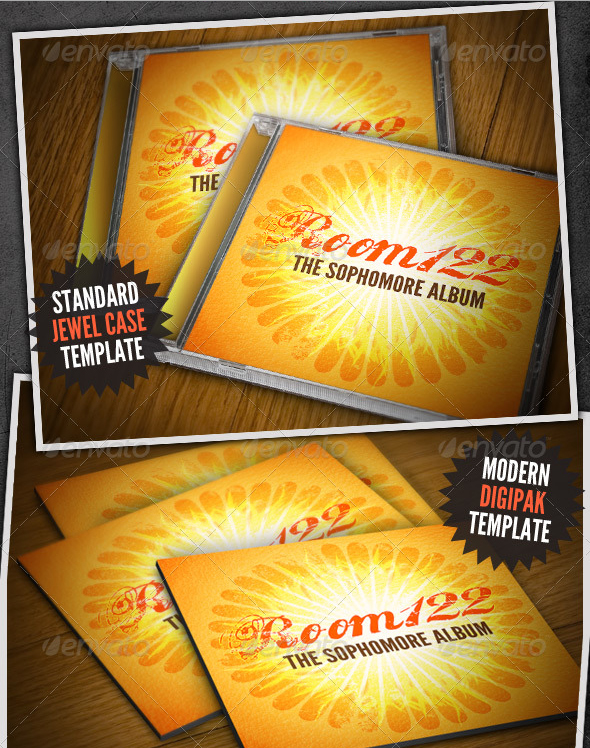 album cover cd mock ups 30 Product Mock Up Resources from Graphicriver