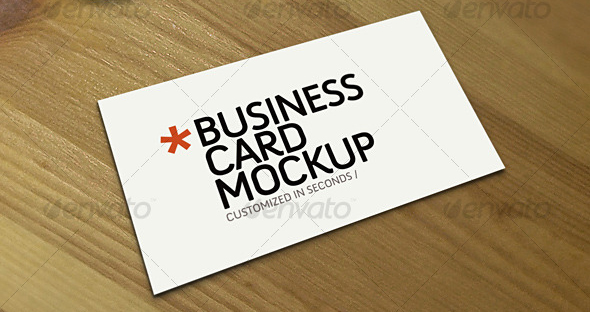 business card mockup 30 Product Mock Up Resources from Graphicriver