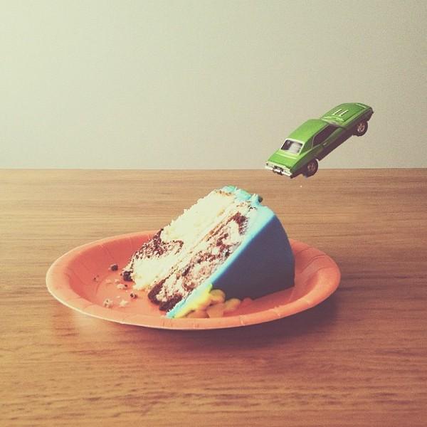 cake ramp Conceptual iPhone Photography from Brock Davis