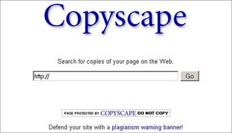 copyscape1 10 Useful Tools Every Writer Should Know About