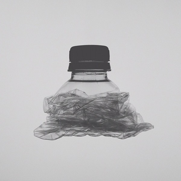 crushed bottle Conceptual iPhone Photography from Brock Davis